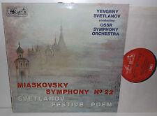 ASD 3062 Miaskovsky Sym No.22 & Svetlanov Festive Poem USSR Sym Orch Svetlanov