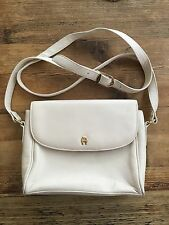 Vintage Cream Etienne Aigner leather handbag purse