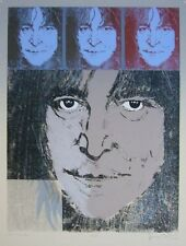 "Ron Wood ""John Lennon"" Original Screenprint S/N"