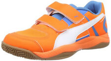 Puma Veloz Indoor II V Jr, Unisex Children's shoes 39, Orange,Football boot