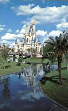 Cinderella Castle Home of Snow White Fantasyland Disney World Florida Postcard