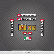 0215 Columbus MAX Bicycle Frame and Fork Stickers - Decals