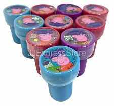 10x Peppa Pig Self-inking Stamp Birthday Party Favors Stampers
