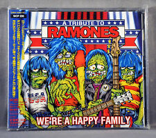 V.A. Tribute To RAMONES + BONUS Trk JAPAN CD SICP-230 We're Happy Family KISS +
