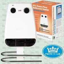 Bathroom Kitchen 2kw 2000w Electric Down Flow Downflow Wall Mounted Fan Heater