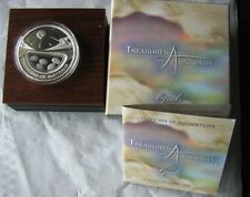 TREASURES OF AUSTRALIA OPAL 1oz SILVER BRAND NEW=MINT CONDITION