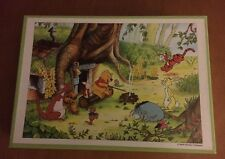 Older Tenyo Japan Disney Winnie the Pooh 300 Piece Puzzle D-300-912 SEALED