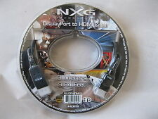 NXG DisplayPort To HDMI Audio/Video Cable NX-DP-HDMI-3