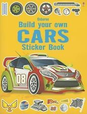 Build Your Own Cars Sticker Book by Simon Tudhope (Paperback / softback, 2013)