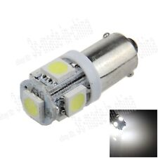 1X White BA9S T4W W6W 5 5050 SMD LED License Plate Light Map Bulb Dome Lamp K001