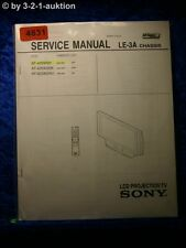 Sony Service Manual KF 42SX200 /K /U LCD Projection TV (#4831)