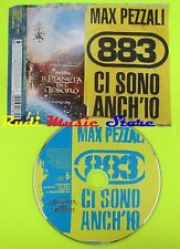 CD Singolo MAX PEZZALI 883 Ci sono anh'io 2002 Germany WARNER MUSIC mc dvd (S10)