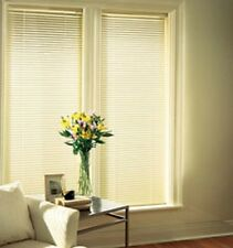"Springs Window Fashion, White Aluminum 1 Inch Mini Blinds 26""W x 64""L"