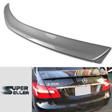 PAINTED MERCEDES BENZ W212 SEDAN E CLASS BOOT REAR TRUNK SPOILER E550 E350 ☚
