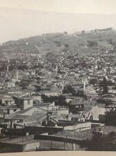 ephemera Picture 1939 Smyrna With The Acropolis On Mount Pagos