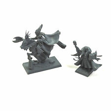 HIGH ELVES Archmage Mage of Ellyria on Elven Steed & mage on foot #1 Fantasy Elf