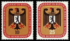 EBS West Berlin 1956 Bundesrat in Berlin Michel 136-137 MNH**