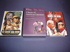 Teaching Co Great Courses DVDs    CLASSICS of  AMERICAN LITERATURE   new + BONUS