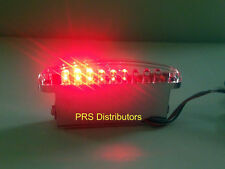 CAR TRUCK BOAT MOTORCYCLE RED LED SCANNER MIRROR GRILL DECORATION SCANNER LIGHT