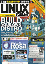 LINUX FORMAT,NOVEMBER, 2013 BUILD YOUR OWN DISTRO ( 3 TOP RASPBERRY Pi ADD -ONS