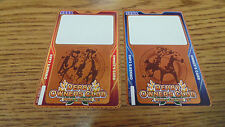 LOT OF 2 NEW DERBY OWNER'S CLUB PLAYER CARD FOR HORSE RACING ARCADE GAMES