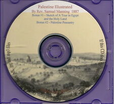 Palestine Illustrated - Pen and Pencil Drawings 1879