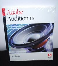 Adobe Audition 1.5 User Guide New Sealed Book Manual Windows