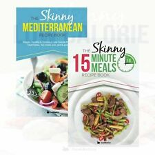 The Skinny Mediterranean Recipe Books Collection 2 Books Set By Cooknation