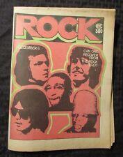1970s Jan 3 ROCK Music Culture Newspaper VG v.3 #10 Emerson Lake & Palmer ELP