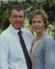 John Nettles & Jane Wymark Signed Photo - Midsomer Murders - A329