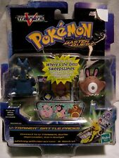 Pokemon V Trainers Master Quest Figures Heracross Sentret & Whitney Hasbro 2004
