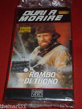 Rombo di tuono.(1984)   VHS  Video editoriale Fabbri Video - NEW