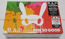 New B.A.P FEEL SO GOOD Ultimate Limited Edition CD Card MATOKI Clear Bag Japan
