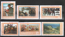 1969 Albania. Albanian Stamps. 25 Years of Liberty in Paintings. MNH.