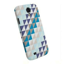 CUSTODIA CASE FACEPLATE KRUSELL PRINTCOVER per SAMSUNG GT i9500 GALAXY S4 TRIANG