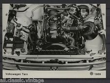 PRESS - FOTO/PHOTO/PICTURE - Volkswagen Taro Engine 1989