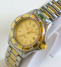 TAG HEUER Luxury Sport Watch for Women, WF1421-0 Model, with GOLD!!!