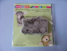 HOUSE MOUSE RUBBER STAMPS CLING FRIENDLY DREAMS CHRISTMAS STAMP