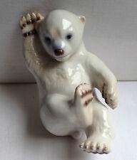 B & G Royal Copenhagen Polar Bear Cub Figurine Porcelain  2537 Denmark