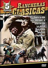 Rancheras Clasicas - 5 Peliculas (DVD, 2008, 2-Disc Set) * NEW *