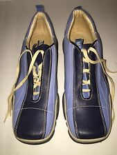 Bed Stu Mens Blue Loafer Shoes Size 9 Lace Up Shoes Casual