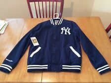 MLB NEW YORK YANKEES MITCHELL AND NESS BASEBALL JACKET