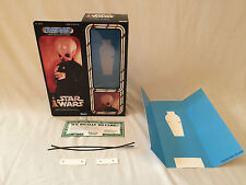 "custom Vintage Star wars 12"" ickabel g'on't cantina band member box + inserts"