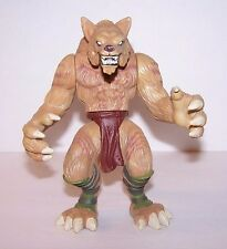"2003 Hasbro Wizards Duel Masters 6"" Fear Fang Brown WEREWOLF Wolfman Figure"