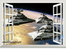 Star Wars Imperial Battle Group 3D Window Wall Decals Removable Stickers Decor