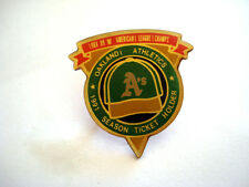 PINS RARE OAKLAND ATHLETICS A'S BASEBALL 1991