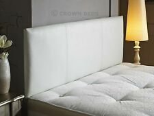 Faux leather headboard 2ft6,3ft,4ft,4ft6,5ft,6ft available in all sizes