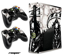 Skin Decal Wrap for Xbox 360 Slim Gaming Console & Controller Xbox360 Slim RPR W