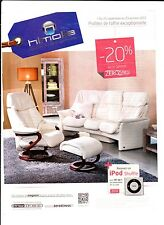 HIMOLLA ZEROSTRESS  Publicité de Magazine . Magazine advertisement. 2012