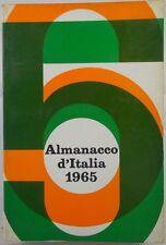 J 6841 VOLUME ALMANACCO D'ITALIA 1965
